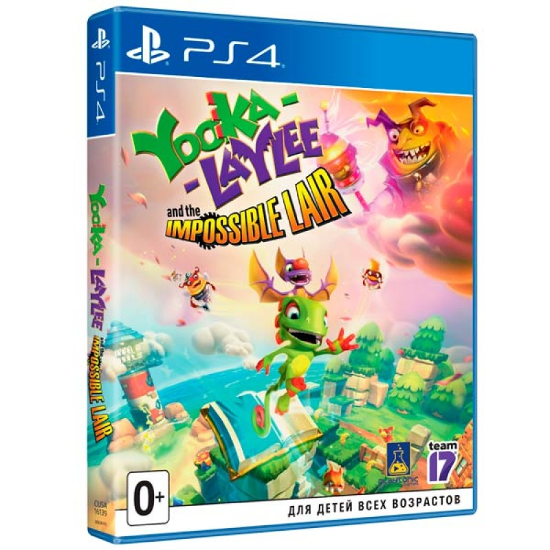 PS4 игра Yooka-Laylee and the Impossible Lair .