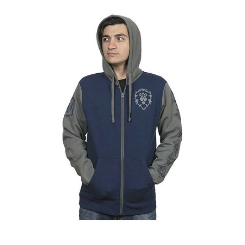 Blizzard World of Warcraft Proud Alliance Pullover (L)