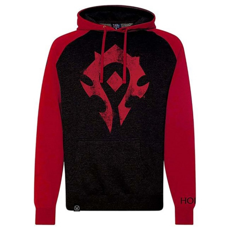 Blizzard World of Warcraft Proud Horde Pullover (L)