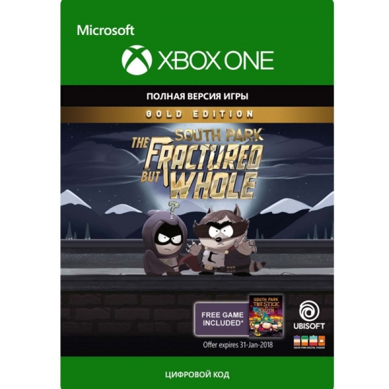 Xbox Xbox South Park:Fractured But Whole:Gold Ed (Xbox)