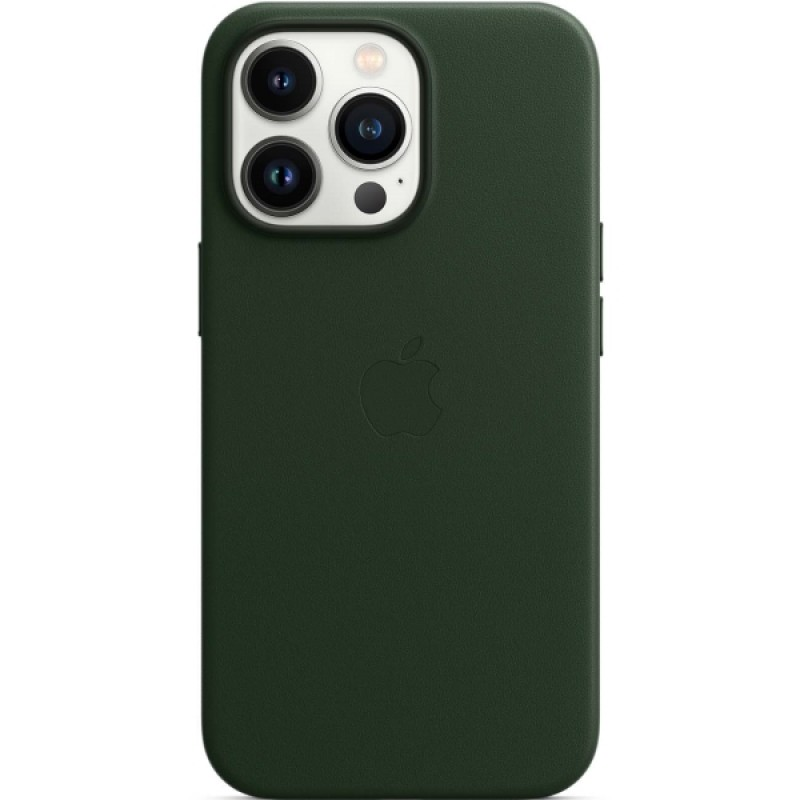 Apple iPhone 13 Pro Leather Case MagSafe Sequoia Green